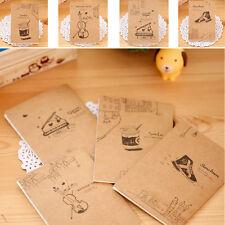 Retro Handmade Journal Memo Dream Notebook Paper Notepad Blank Mini Pocket Diary