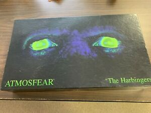 """1995 Mattel """"Atmosfear The Harbinger's VHS Board Game COMPLETE 12 to Adult  VG"""