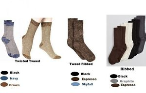Hue Women's Socks Bootique Tweed Ribbed/ Twisted Tweed or Ribbed Boot Socks