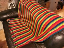 Vintage throw blanket