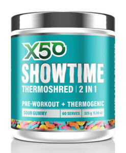 X50 Showtime Thermoshred 60 serves