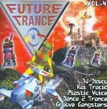 Future Trance 04 (1998) DJ Discoteca, Kai Tracid, serbatoio, Johnny Shaker, GR [CD DOPPIO]