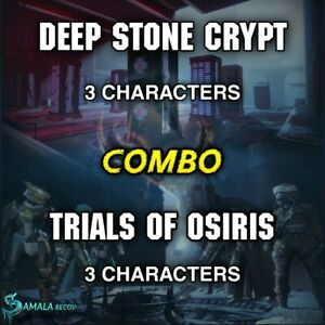 Trials Of Osiris + Deep Stone Crypt | Combo 3 characters | Xbox Ps4