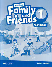 Oxford FAMILY AND FRIENDS Level 1 Workbook 2nd Edition / Naomi Simmons @NEW@