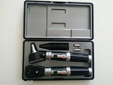 Professional Diagnostic Medical Ear Eye Care LED Otoscope Ophthalmoscope Kit