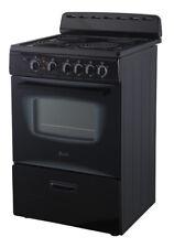 "New ListingAvanti Er24P1Bg, Black Electric Range Oven, 24"""