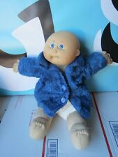 Cabbage Patch Kids Baby Doll Bald Blue Eyes with Tooth