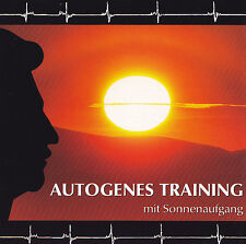 BERNHARD MOSER - CD - AUTOGENES TRAINING mit Sonnenaufgang