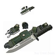 New Szco Supplies M-9 Bayonet SHF Survival Outdoors Hunting Camping Knife