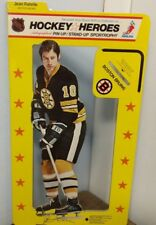 1975 NHLPA Hockey Heroes Stand-Up Boston Bruins Jean Ratelle Fact.wrapped