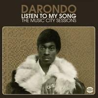 DARONDO Listen To My Songs - New & Sealed 180gram Vinyl LP (BGP) Funk 70s Soul