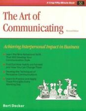 The Art of Communicating, Revised Crisp Fifty-Minute Books