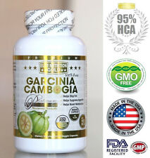 PURE 95% HCA Garcinia Cambogia Extract Diet Weight Loss Slimming Fat Burner USA