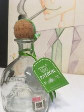 Empty Liquor Patron SilverTequila Blanco 750mil Bottle good for Crafts