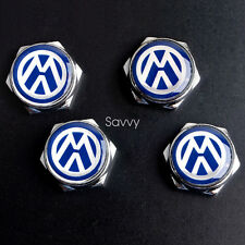 4 Pcs Separate LICENSE PLATE FRAME Bolt Screws For Volkswagen VW Model