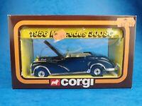 Vintage Die-cast CORGI - 1956 MERCEDES 300SC  #805 1983 Cars of The 50's