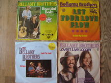 "4 SINGLES 7"" - BELLAMY BROTHERS -  SAMMLUNG zum Sonderpreis!"