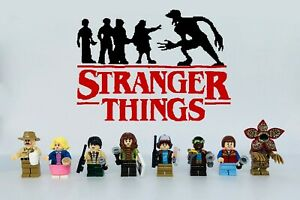 STRANGER THINGS Minifigures 8pcs Custom Set