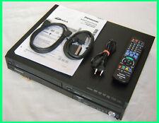 PANASONIC DMR-EX99V DVD/VHS/HDD RECORDER DIGITAL DVB-T *250 GB=440h* HDMI/USB/SD