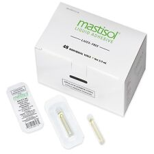 Mastisol Liquid Adhesive Box of 48 - 2/3 ml Vials. New Surgical Medical Glue