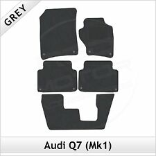 Audi Q7 Mk1 7-Seater 2006-2015 Tailored Fitted Carpet Car Floor Mats GREY