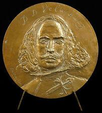 Medaille Diego Vélasquez d'après Las Meninas les menines sc Jacques Birr Medal