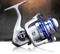Metal Bait Casting Fishing Reel Heavy Duty 12 Ball Bearings 5.5:1 Lure Wheel USA