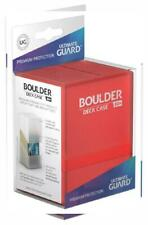 Ultimate Guard Boulder Deck Case 80+ Std. Size Ruby Small,