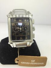 GIRARD PERRAGAUX VINTAGE 1945 AUTOMATIC CHRONOGRAPH MEN'S WATCH NEW WITH TAGS
