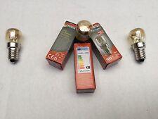 3 x Delonghi Oven Lamp Light Bulb Globe D61E D61EII D61GII D61GW