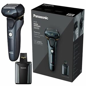 Panasonic ES-LV97 Wet & Dry Electric 5-Blade Shaver + Cleaning & Charging Stand