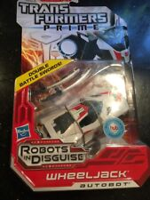 Transformers Prime Robots in Disguise Deluxe Class Autobot Wheeljack New