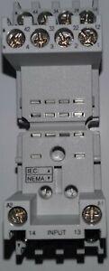 Dayton 1EGP8 Relay Socket Elevator Finger Safe 14 Pin 10A 300V Qty 10