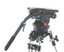 SACHTLER CINE 75 HD 150mm FLUID HEAD 2 TBARS PLATE BRACKET TDKN SERVICED 190 Lbs