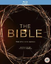 THE BIBLE Complete Season TV Mini Series Box Set NEW BLU-RAY