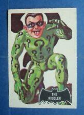 """Rare 1966 A&BC **BATMAN - Black BAT** Card # 36 - """"The RIDDLER""""  Dark KNIGHT"""
