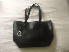Ralph Lauren Newbury Large Shopper - Black Epi Leather