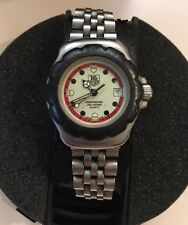 Tag Heuer F1 Formula One SS 35mm Mens All Orig 1990's Vintage Watch