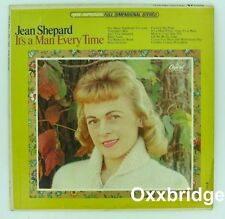 JEAN SHEPARD It's A Every Man Time CANADA RARE LP Honky Tonk Female Singer 1965