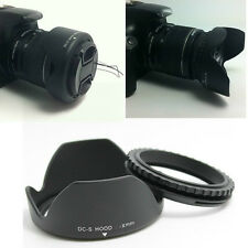 55MM Reversible Tulip Petal Flower Lens Hood for Sony Alpha DSLR Camera 18-55mm