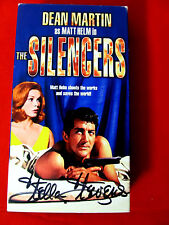 The Silencers VHS OOP mint signed by Stella Stevens autograph Dean Martin spies