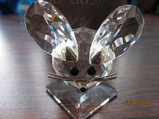 Swarovski eerste muis van swarovski met gefaceteerde oren.