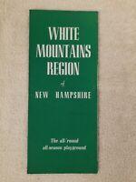 NEW HAMPSHIRE old VINTAGE brochure 1930s SCARCE photos RETRO white Mountains
