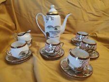 15 Pc Kutani China Porcelein Tea Set
