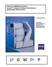 Humphrey Acuitus Auto refractor Keratometer 5015 Manual PDF