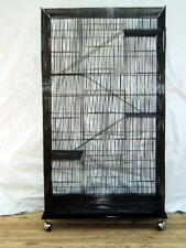 Extra Large 5 level Ferret Chinchilla Sugar Glider Rat Mice Cage #405 Black 687