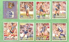 1996 AFL SELECT  STICKERS & STAND UPS - NORTH MELBOURNE KANGAROOS