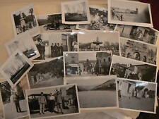 ancien reportage photo militaire corse sud afrique    2