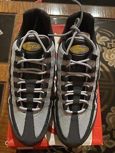 Nike Air Max 95 SE Reflective Mens Off Noir Amarillo Wolf Grey BQ6523-001 Sz 11