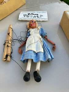 """Collectable Vintage Pelham Puppet """"Alice""""-Alice in Wonderland """"great condition"""""""